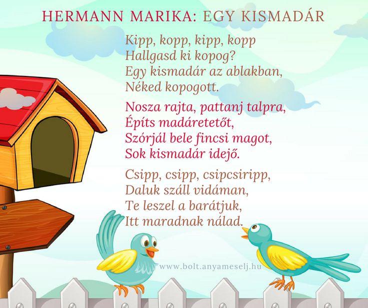 Mesés vers óvodásoknak egy kis madárról :)