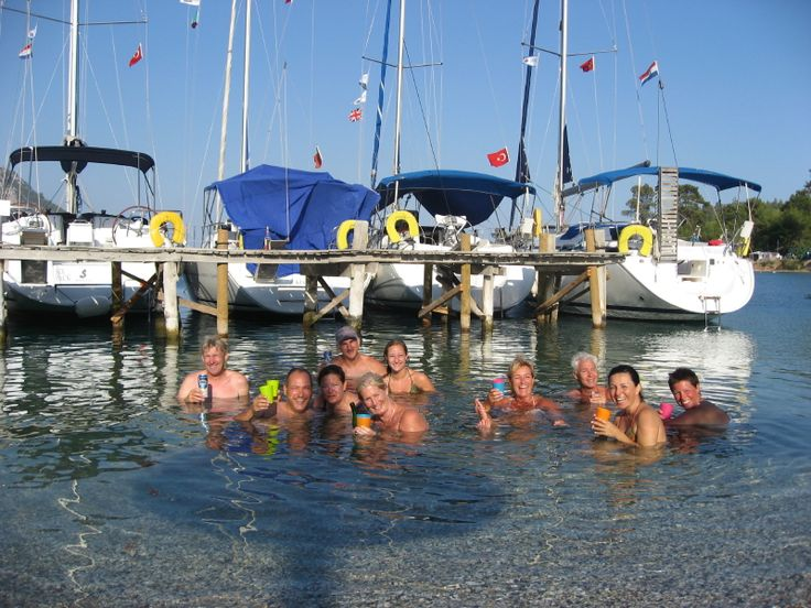 On the FETHIYE FLOTILLA you'll sail in the Gulf of Fethiye with its stunning anchorages, all with crystal clear water that entice you to dive in. Visit the town of Göcek and the lovely beach at Olu Deniz. The following week sail west to Ekincik and take a trip up the Dalyan Delta to the mud baths and ruins of Ancient Caunos, before returning to the Gulf of Fethiye.