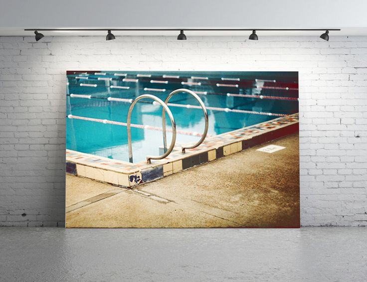 35 mm Film Photography 8 x 12 Print. Vintage Swimming Pool Photography,Mid Century Swimming Pool,Turquoise Water, Sydney Pool, Chrome, Lanes by PhotographyByAnita on Etsy https://www.etsy.com/listing/205117286/35-mm-film-photography-8-x-12-print