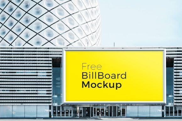 Free Poster and Billboard Mockups