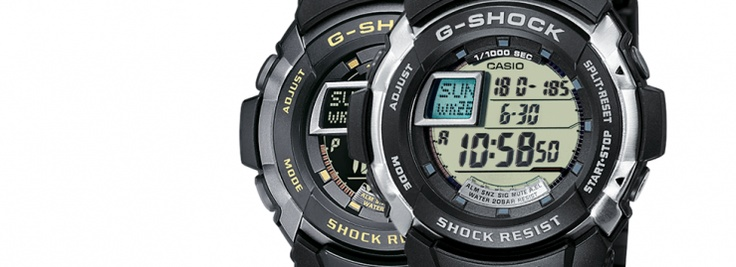 Estos modelos de G-Shock son completamente distintos a todos los demás. A parte del modelo normal, el G-7700-1ER también lo podemos encontrar en negativo, el modelo es el G-7710-1ER.