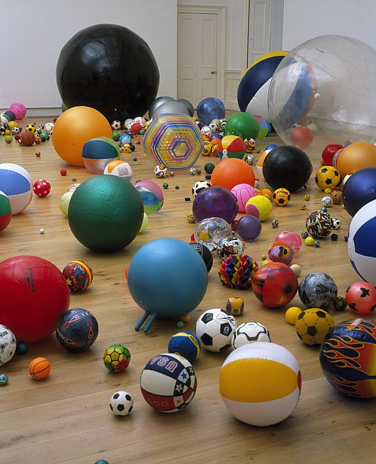 Martin Creed, British artist (b. 1968-) - Work No. 370 - Balls - 2004