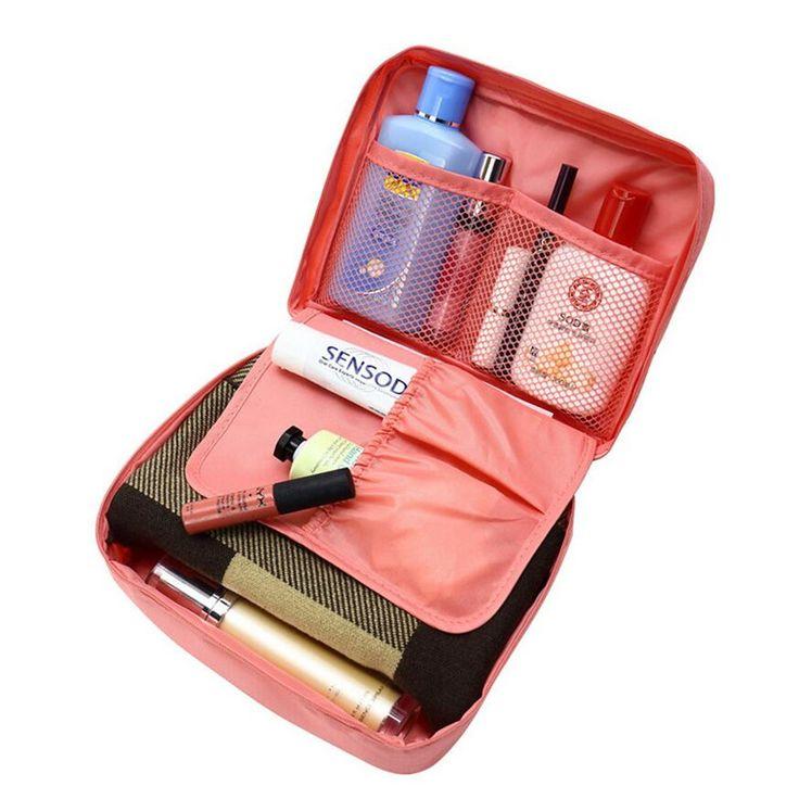 Vrouwen Reizen Organisatie Schoonheid cosmetische Make up Opslag Leuke Dame Wassen Tassen Handtas Pouch Accessoires Levert item Producten