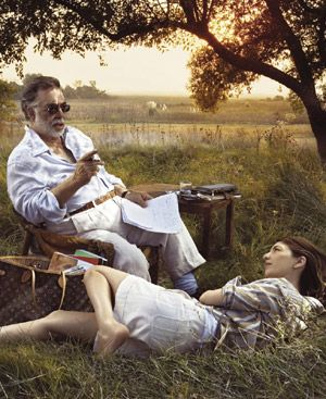 Sofia And Francis Ford Coppola Louis Vuitton Journeys Ads by Annie Leibovitz