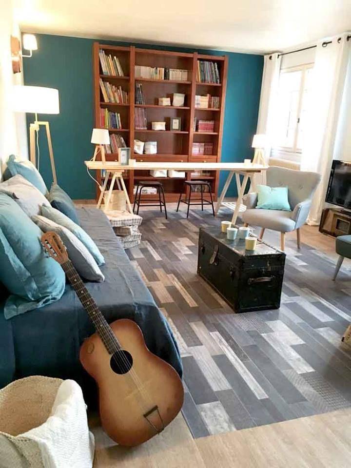 Les sols Gerflor dans Maison à Vendre sur M6 ! Westwood Grey - Texline by #Gerflor #flooring #homedecor #homestaging
