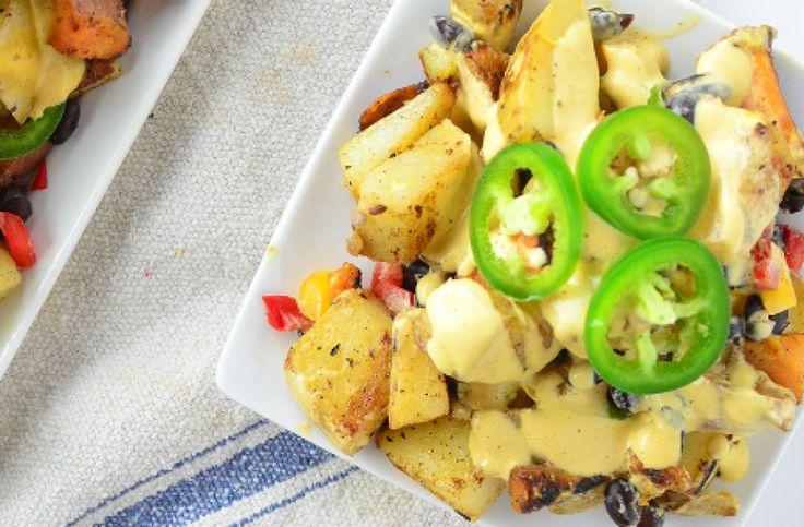Vegan Potato Nachos via @AOL_Lifestyle Read more: http://delishknowledge.com/vegan-potato-nachos/