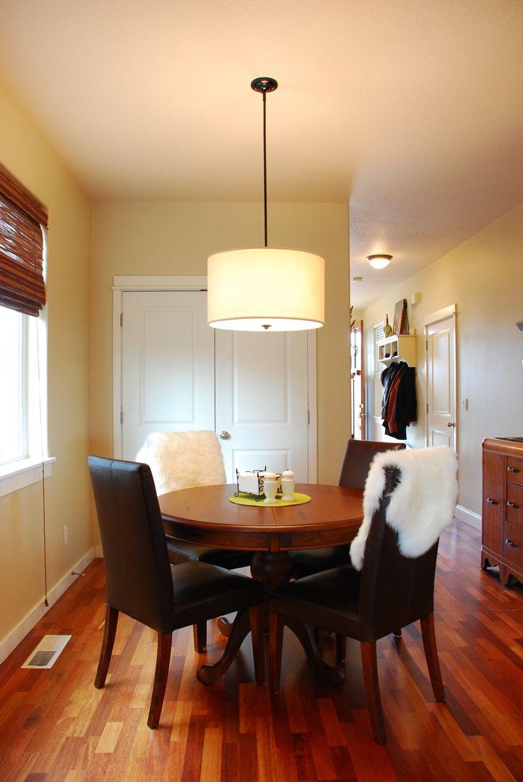 Kichler lighting 42548clp triad 3 light linear pendant classic pewter - Drum Chandelier Dining Room