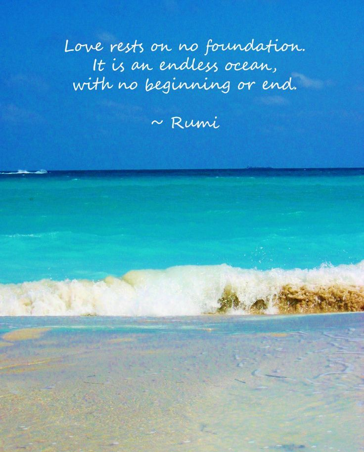 Quotes About The Ocean And Love: 104 Best Images About Soul Of Rumi On Pinterest