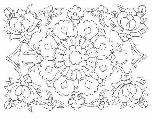 Design Pattern Coloring Pages | My free collection of different patterns, motifs and symbols: