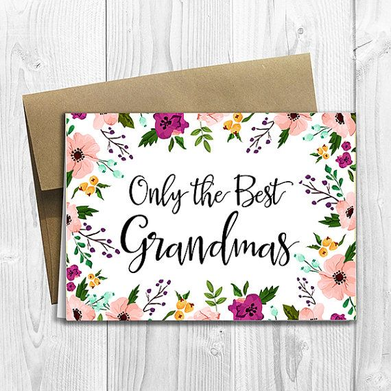 PRINTED CUSTOM Only the Best Grandmas Get Promoted to by DesignsLM