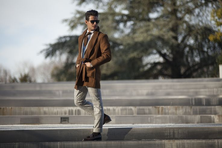 """Secound picture in Frank Gallucci's blog post """"First day at Pitti""""."""