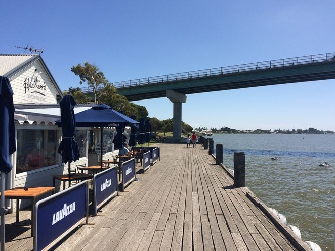 Hectors Cafe on the Wharf