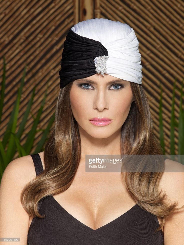 Melania Knauss Trump is photographed for Avenue Magazine on July 27, 2012 in New York City. PUBLISHED