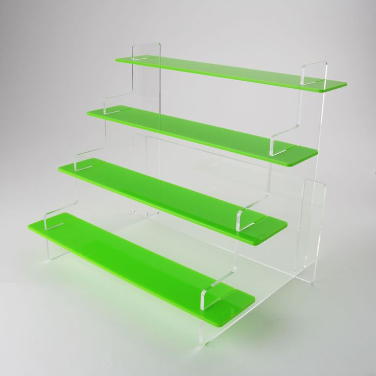 4 Tier Slimline Acrylic Display Stand