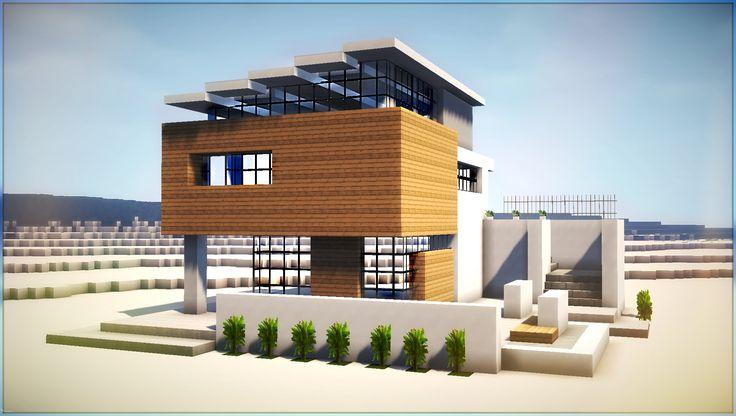 ✔ Minecraft: How to Build Modern Beach House Part 2
