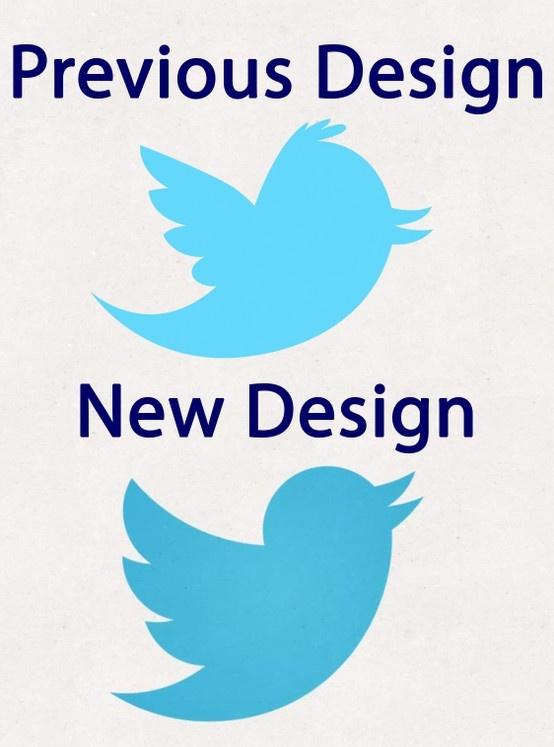 Het Nieuwe Twitter Logo.