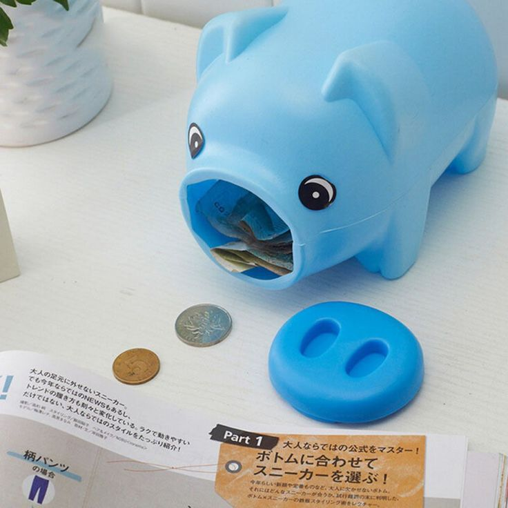 Cute Portable Plastic Piggy Bank Saving Cash Coin Money Box Children Toy Kids Gifts Home Collection 3 Colors //Price: $5.95 & FREE Shipping //     #hashtag2