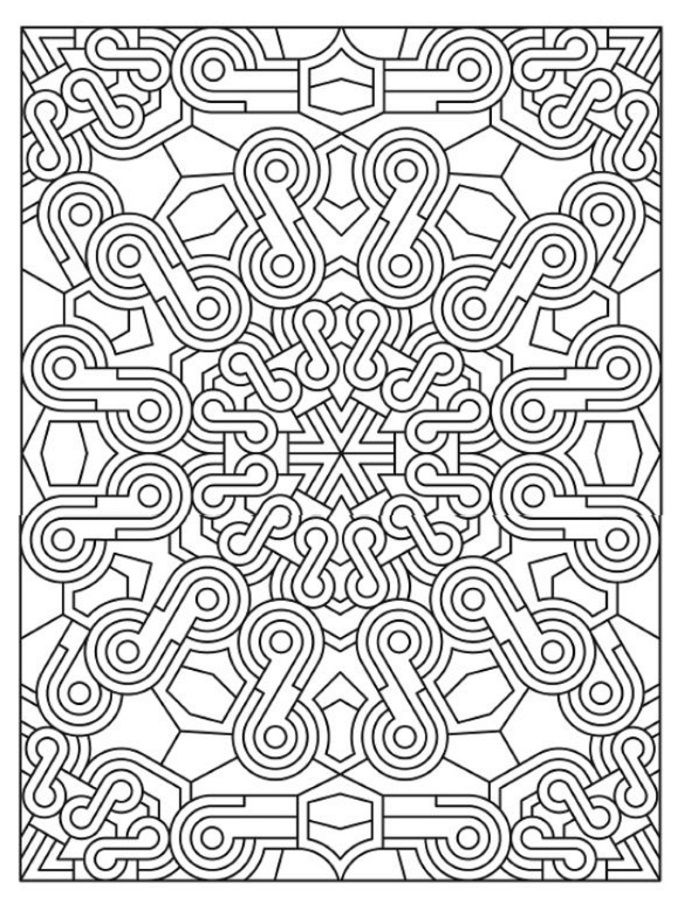 mandala 627 creative haven mandala madness coloring book dover publications