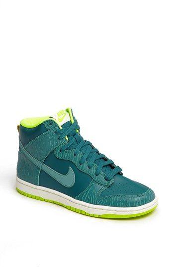 Nike 'Dunk Hi - Skinny Print' High Top Basketball Sneaker | Nordstrom $85