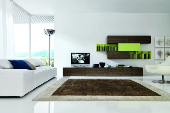 Wall unit ideas for the media room.  Check the site for other similar pictures