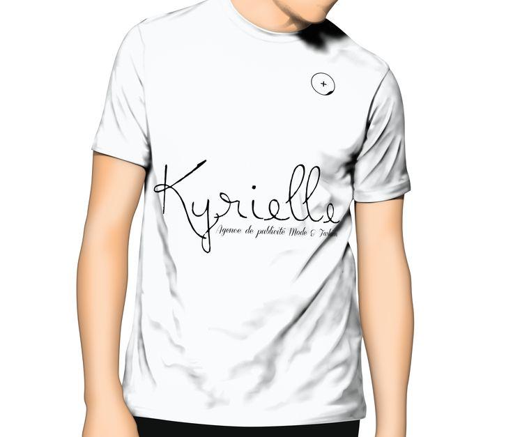 T-shirt Men Kyrielle Blanc