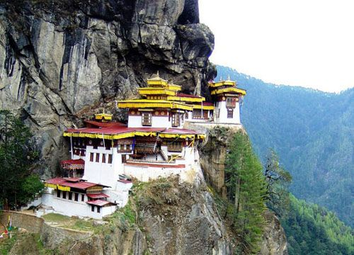 Landlocked among the Himalaya mountains, Bhutan is one of the most isolated nations in the world. It also showcases one of the most stable balances in the world between moderization and retention of ancient culture. Its religious population believes in peaceful resolution to all conflict, and although it sits in a troubled region, it remains protected by its geography.