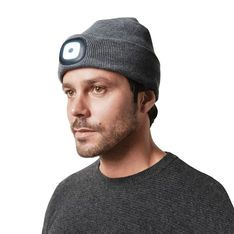 XCap Light Up Hat in color Gray Light up hats, Cap