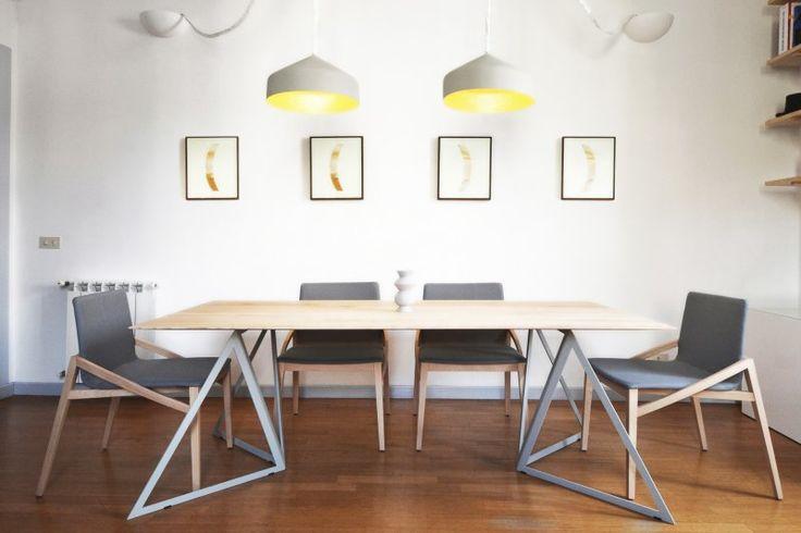 Mini Flat Celimontana   TYPE: APARTMENT, INTERIOR DESIGNAND FURNITURES  LOCATION: ROME, VIA CELIMONTANA  PROGRAM: 60 m²  DESIGN: 2015  COMPLETED: