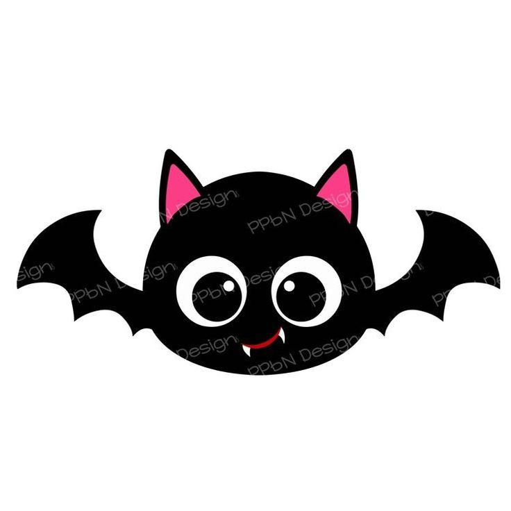Cute Bat | Halloween clipart, Halloween crafts, Kawaii ...