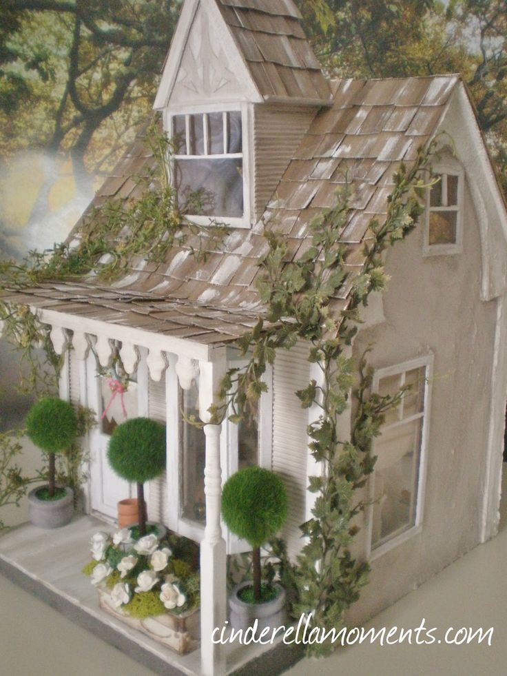 Cinderella Moments: Anthropologie Inspired Dollhouse