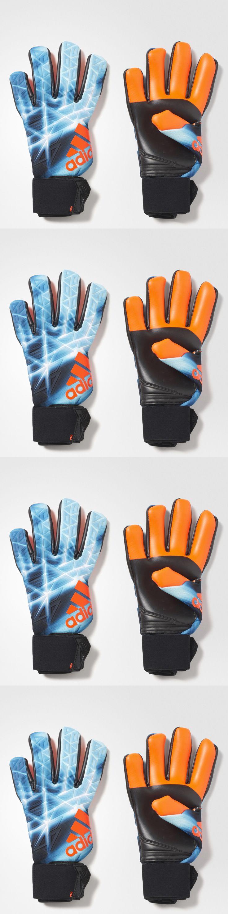 Gloves 57277: Adidas Ace Trans Pro Manuel Neuer Soccer Goalkeeper Gloves (Blue/Orange) Az3701* -> BUY IT NOW ONLY: $104.99 on eBay!