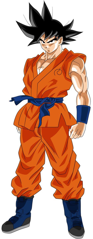 Goku (Fukkatsu no F) by RayzorBlade189 on @DeviantArt
