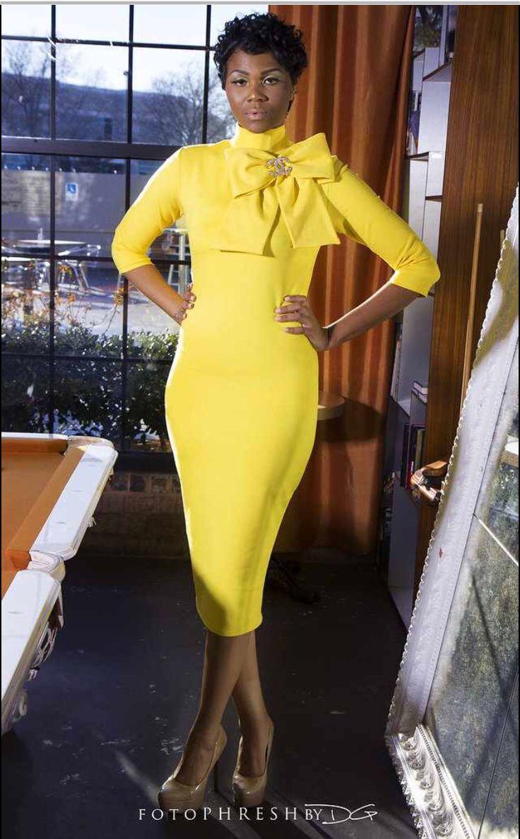 KMills Collection Signature Bow Dress - Kenya Mills StylistKenya Mills Stylist