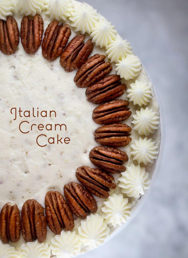 Italian Cream Cake – bakerella.com