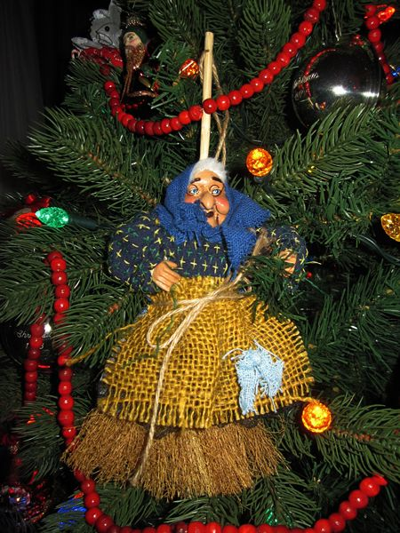 befana of italy | La Befana has had a place on our Christmas Tree since our first ...