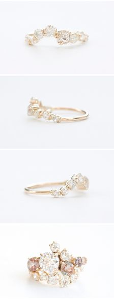 17 Best ideas about Custom Wedding Rings on Pinterest Design