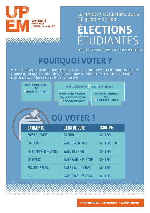 03/12/2013 : Elections étudiantes