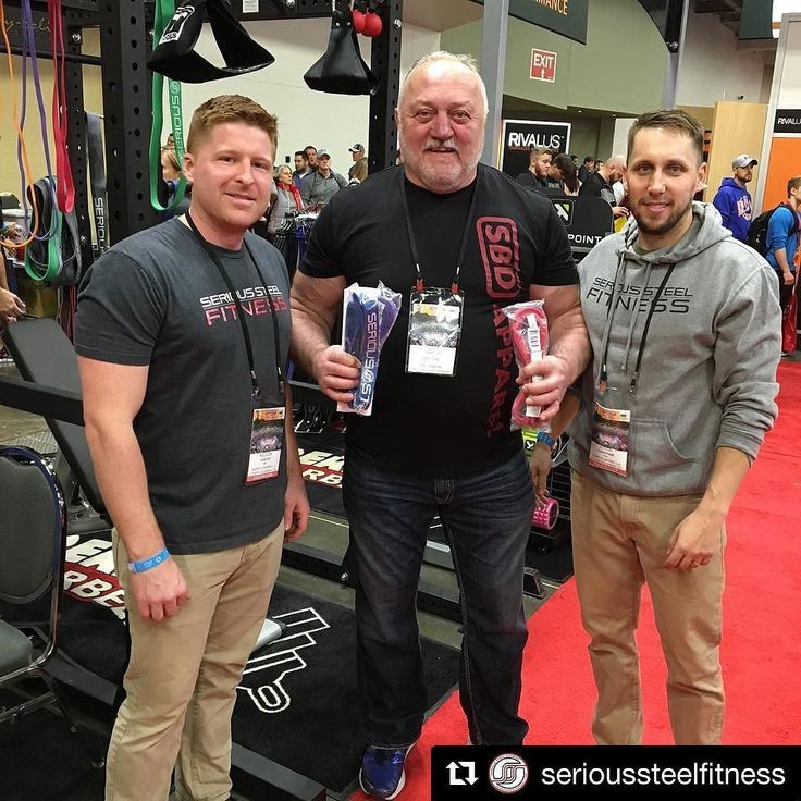 Thanks to everyone who stopped by our booth this weekend at @arnoldsports including the one and only @kazmanaught! @serioussteelfitness  #Repost @serioussteelfitness with @repostapp  Last day of the Arnold Sports Festival 2017! Come and stop by! It was great meeting three time Worlds Strongest Man Bill Kazmaier (@kazmanaught) and everyone else! #arnold2017 #asf2017 #strongman #theoriginalstrongman @fatgripz @lockjawcollars @handxband @oso_barbell @bodysolidfit @bandbellbar