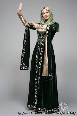 национальные свадебные платья кавказа - Поиск в Google