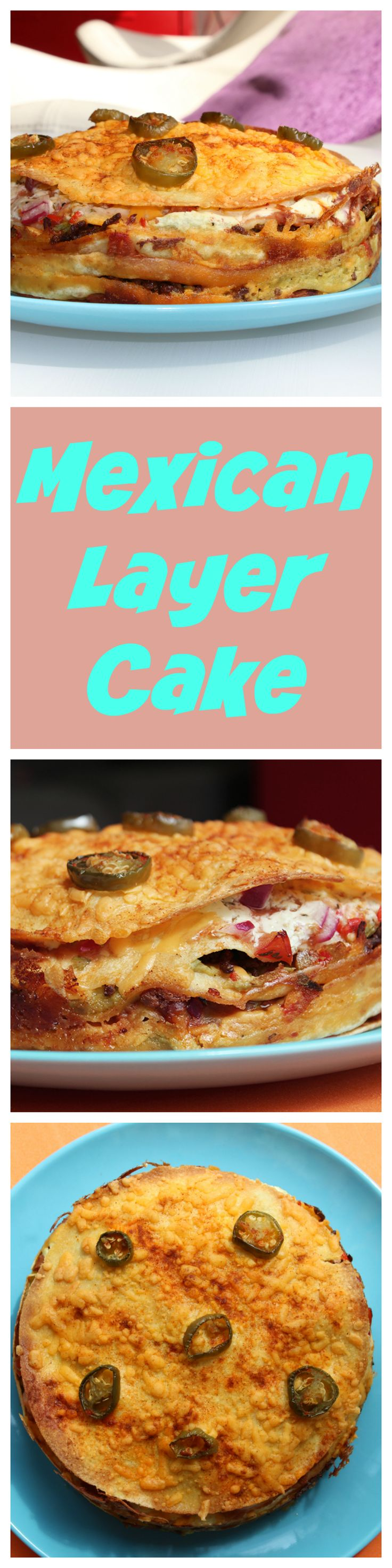 Mexican Layer Cake