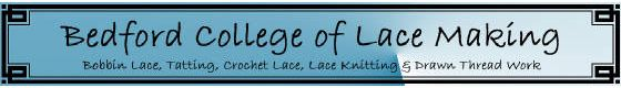 Bedford College of Lace Making Bedford, Indiana, USA. Facebook page at https://www.facebook.com/pages/Bedford-College-of-Lace-Making/61016997284