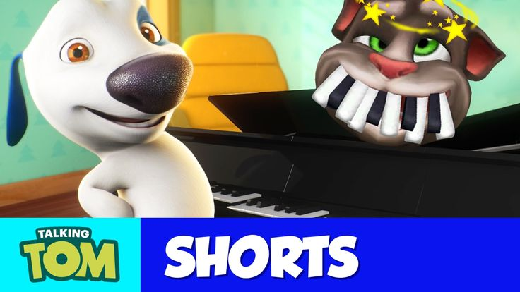 Talking Tom Shorts 29 - Piano Battle xo, Talking Angela #TalkingAngela #LittleKitties #MyTalkingAngela
