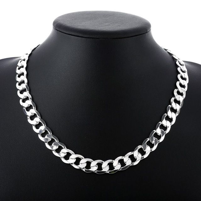 925 STERLING SILVER NECKLACE CHAIN Various styles and lengths available