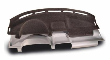 Custom Molded Carpet Dashboard Covers for 2008 Chevrolet Tahoe w/o center speaker cut-out
