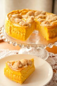 かぼちゃの煮物とヨーグルトで☆ダイエットにもぴったりのヘルシーチーズケーキ♡