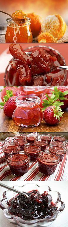 Фруктовые и ягодные джемы: 7 самых вкусных / Простые рецепты