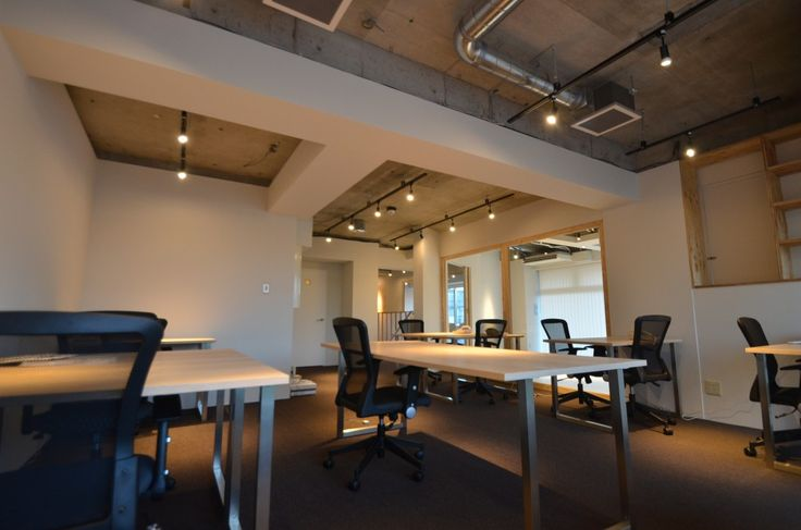S2g is a minimalist office space located in yokohama for Office space basement
