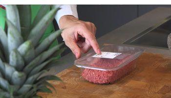 Tortellini met geroerbakte spinazie en ham