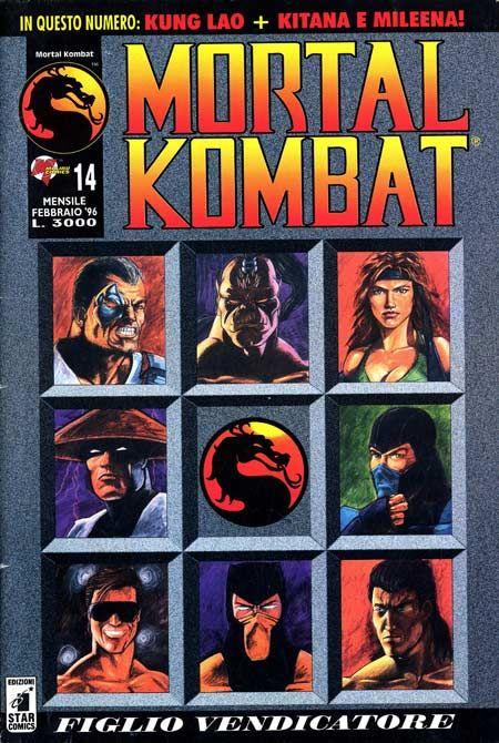 Mortal Kombat One-Shot Malibu Comic Books.