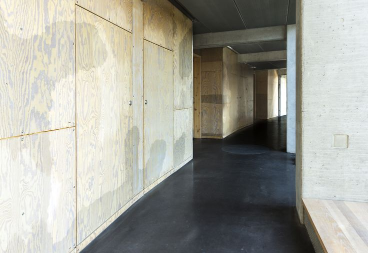 Tietgen dormitory use pivot doors from Vahle to fireproof the tech room entrance.